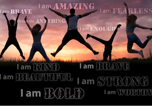 10 Affirmations to Raise STRONG kids -Print and Repeat Daily